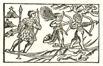Illustration from Olaus Magnus' Opera Breve