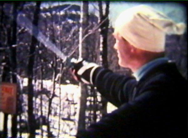 Hubert Daberer, first full-time ski instuctor at the Walter Foeger Natur Tecknik Ski School