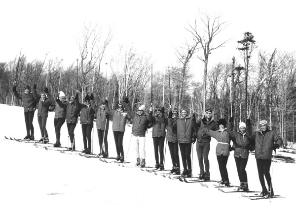 Jay Peak - Natur Teknik Ski School. Walter Foeger