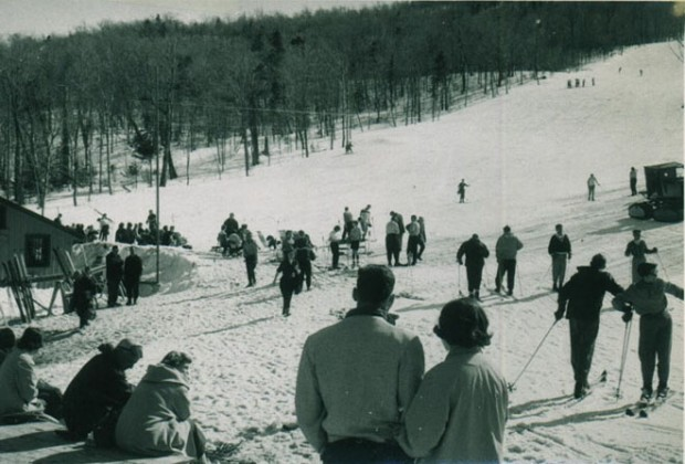 Jay Peak - Warming Shelter & Open Slope - Spring 1958