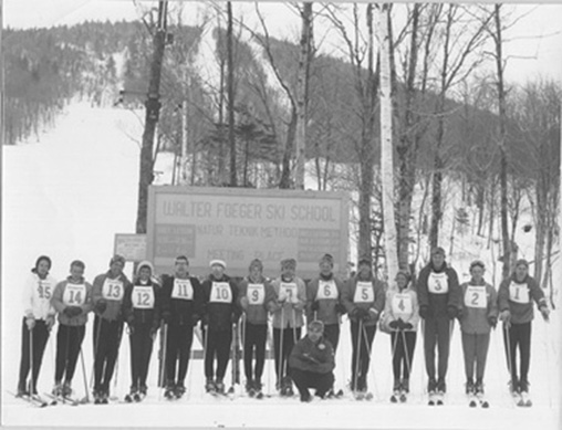 Ski Instructor's course December 1960