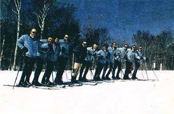 Jay Peak full-time instructors circa 1961