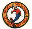 Jay Peak ski school badge