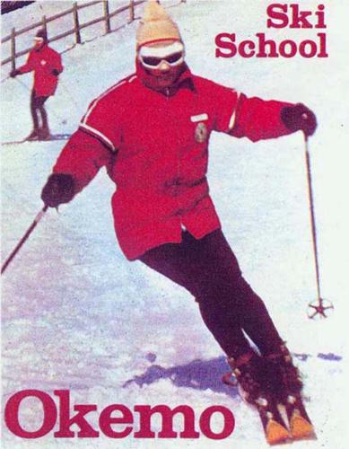 Okemo Mt., Vermont - Natur Teknik Ski School Director Fred Diette, circa 1965