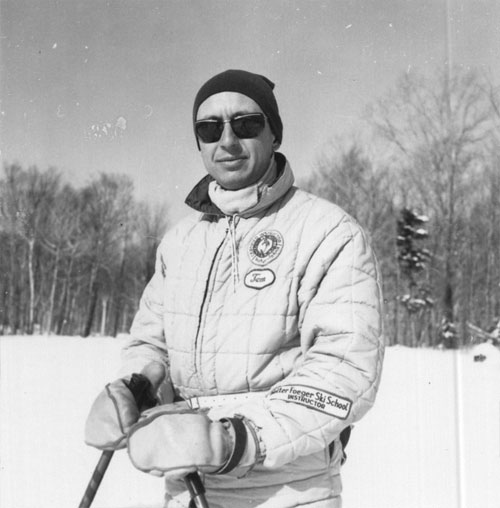 Tom Emrich, Natur Teknik ski instructor, Jay Peak de facto official photographer and cinematographer, and musician