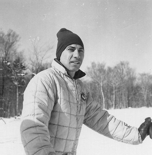 Sonny (Laurent) Cote, Natur Teknik ski instructor, wedeln master, and National Ski Patroller
